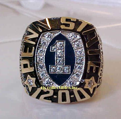 rings sheet metal ncaa ring capacity state lions binder penn ip nittany