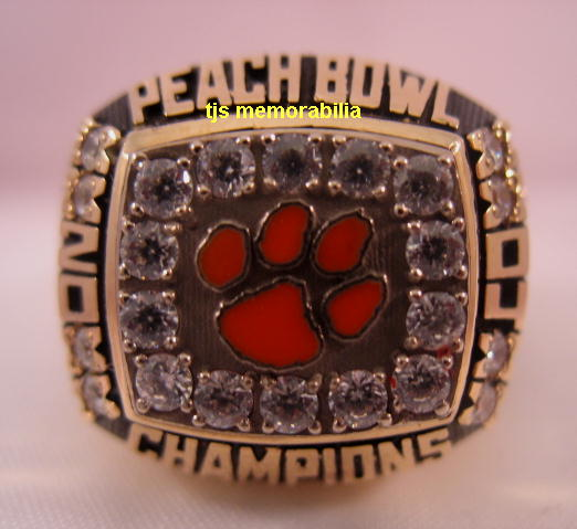 rings bowl orange championship acc tigers product clemson champions football ring