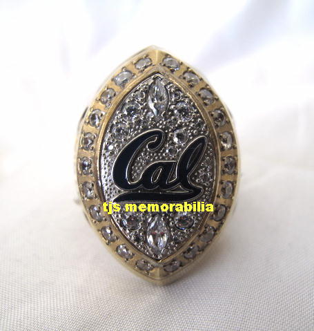 2007 cal bears armed forces bowl championship ring game used