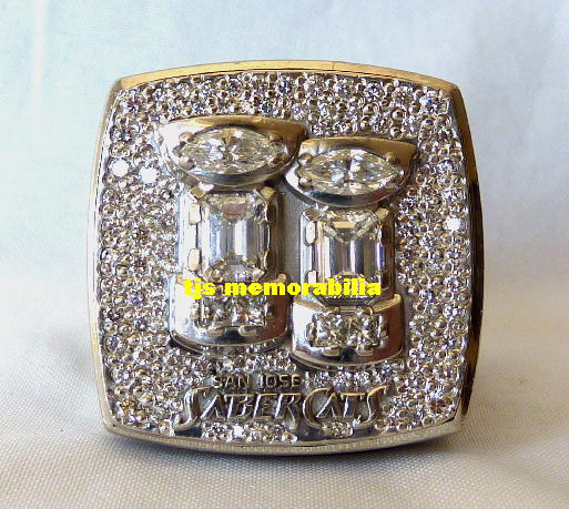 2004 san jose sabercats arena bowl championship ring. Black Bedroom Furniture Sets. Home Design Ideas