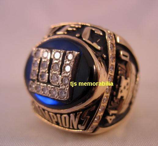 Ny Giants Championship Rings