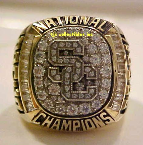 Usc Trojans National Championship Ring