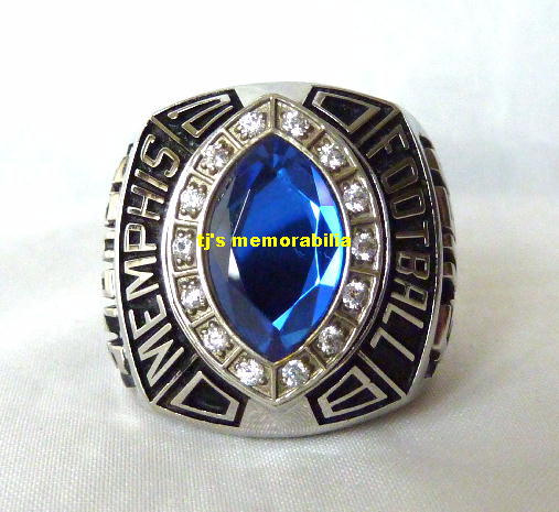 Gold For Sale >> 2008 MEMPHIS TIGERS ST PETERSBURG BOWL CHAMPIONSHIP RING