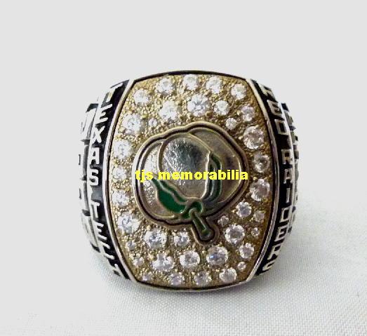 Texas Tech Bowl Rings