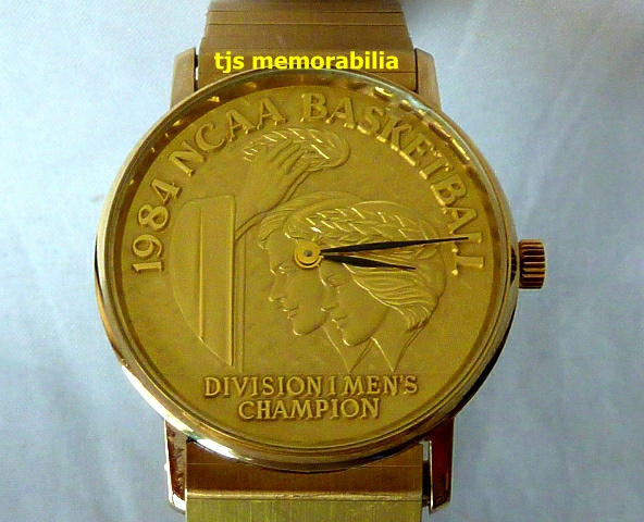1984 GEORGETOWN HOYAS NCAA BASKETBALL CHAMPIONSHIP WATCH No Price