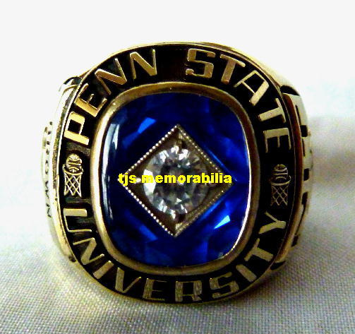 p state football ncaa penn nittany championship ring rings lions