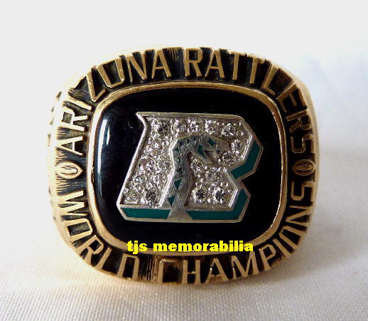 1994 ARIZONA RATTLERS ARENA BOWL WORLD CHAMPIONSHIP RING