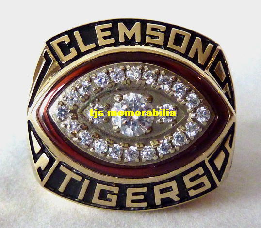 band clemson stainless tigers steel ring full logo style rings copy