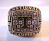 1998 TENNESSEE VOLUNTEERS NATIONAL CHAMPIONSHIP RING !