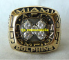 1984 MIAMI DOLPHINS AFC CHAMPIONSHIP RING & ORIGINAL PRESENTATION BOX