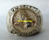CIRCA 1990 TEAM MIKE TYSON CHAMPIONSHIP STYLE RING