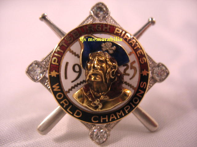1925 PITTSBURGH PIRATES WORLD SERIES CHAMPIONSHIP PIN