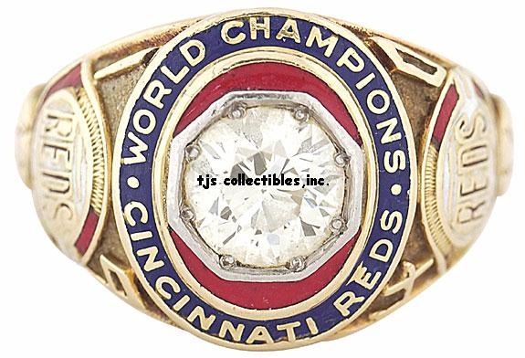 1940 CINCINNATI REDS WORLD SERIES RING