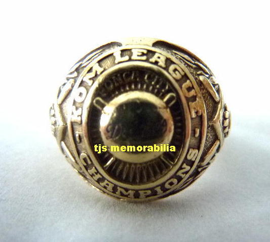 1950 BROOKLYN DODGERS MINOR LEAGUE CHAMPIONSHIP RING