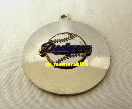 1959 LA DODGERS WORLD SERIES CHAMPIONSHIP PENDANT