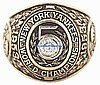 1953 NY YANKEES WORLD SERIES CHAMPIONSHIP RING