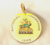 1966 NOTRE DAME FIGHTING IRISH NATIONAL CHAMPIONSHIP PENDANT