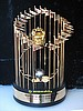 1981 LOS ANGLES DODGERS WORLD SERIES TROPHY