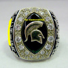 2009 MICHIGAN STATE SPARTANS CAPITAL ONE BOWL CHAMPIONSHIP RING