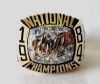 1984 GEORGETOWN HOYAS NATIONAL CHAMPIONSHIP RING - PLAYERS !