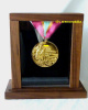 1984 OLYMPIC GOLD MEDAL WITH ORIGINAL DISPLAY CASE