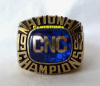 1987 CHRISTOPHER NEWPORT CAPTAINS TRACK & FIELD NATIONAL CHAMPIONSHIP RING