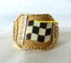 2000 INDIANAPOLIS 500 WINNERS CHAMPIONSHIP RING