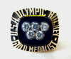 1980 USA OLYMPIC HOCKEY CHAMPIONSHIP RING - MIRACLE ON ICE !